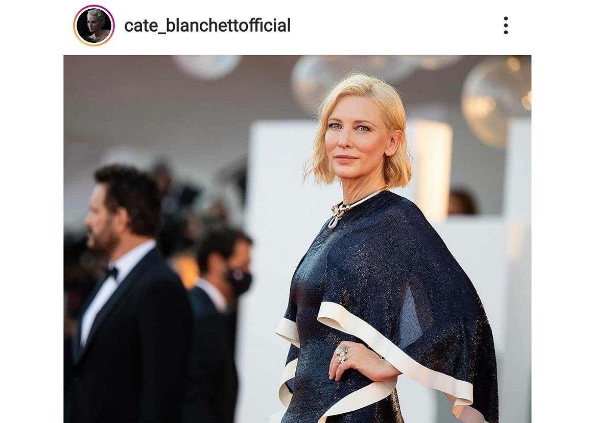 Cate Blanchett al festival del cinema di Venezia
