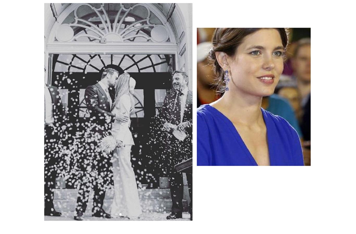 Charlotte Casiraghi, il suo primo amore è convolato a nozze