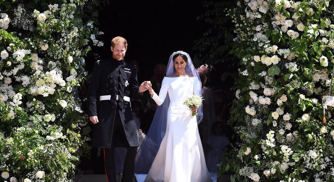 Harry, Meghan e i fantasmi in chiesa il giorno delle nozze