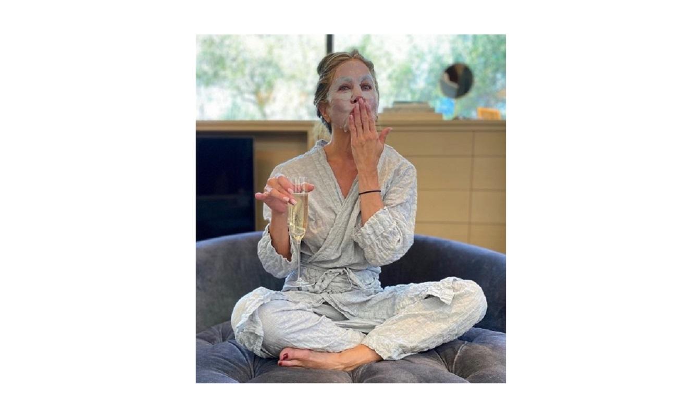 Jennifer Aniston, la maschera viso che ha fatto prima degli Emmy