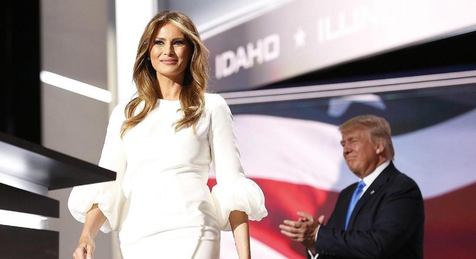 Melania Trump non voleva indossare abiti di designer scelti prima da Ivanka