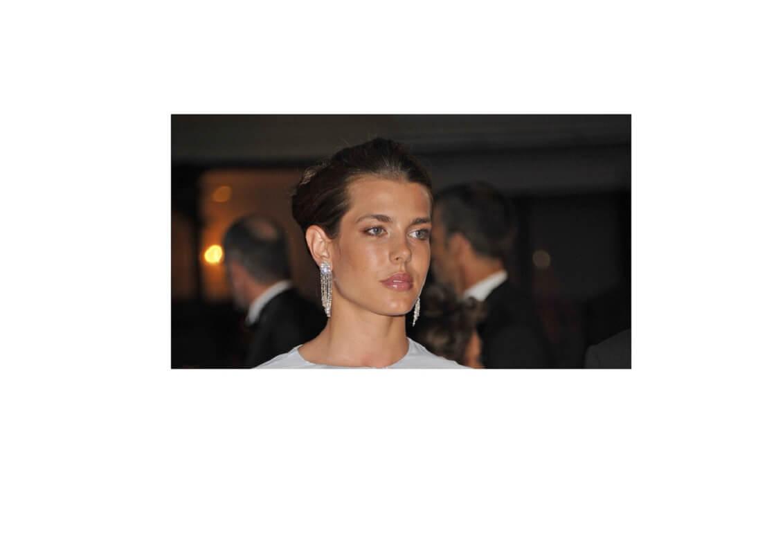 Charlotte Casiraghi, abito leopard firmato Saint Laurent