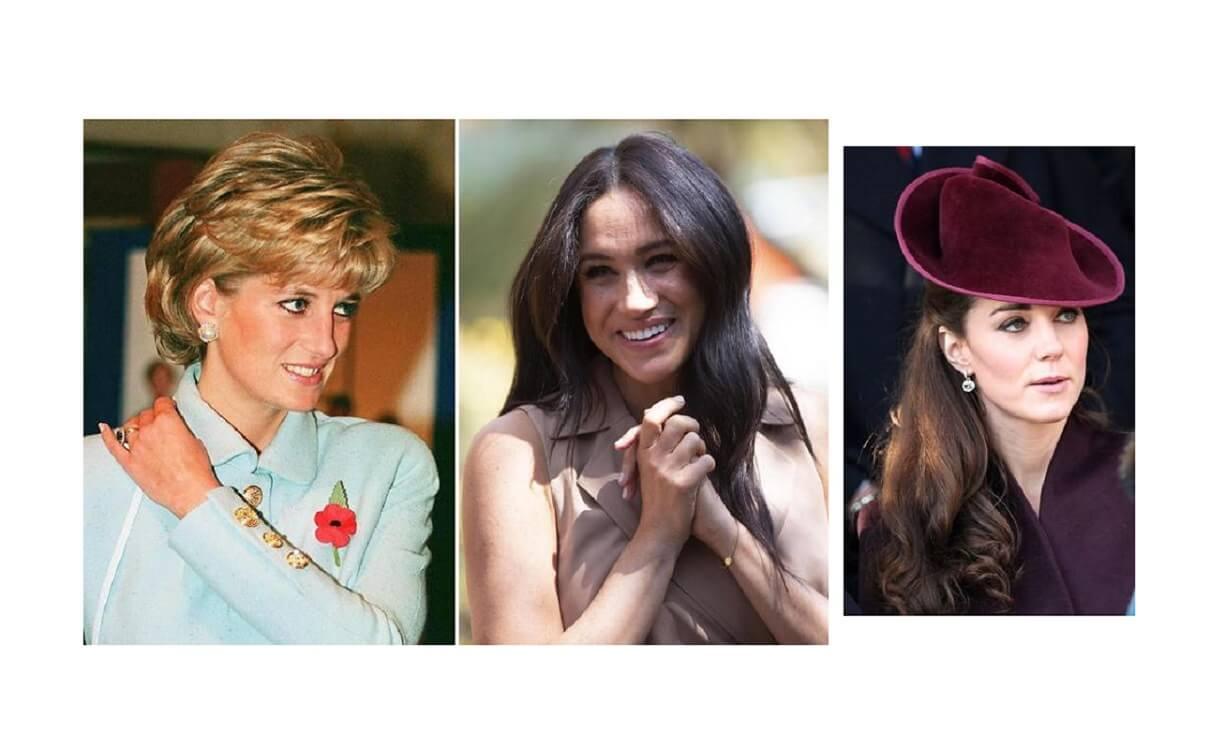 Kate, Meghan, Lady Diana: cosa hanno in comune le loro fedi nuziali