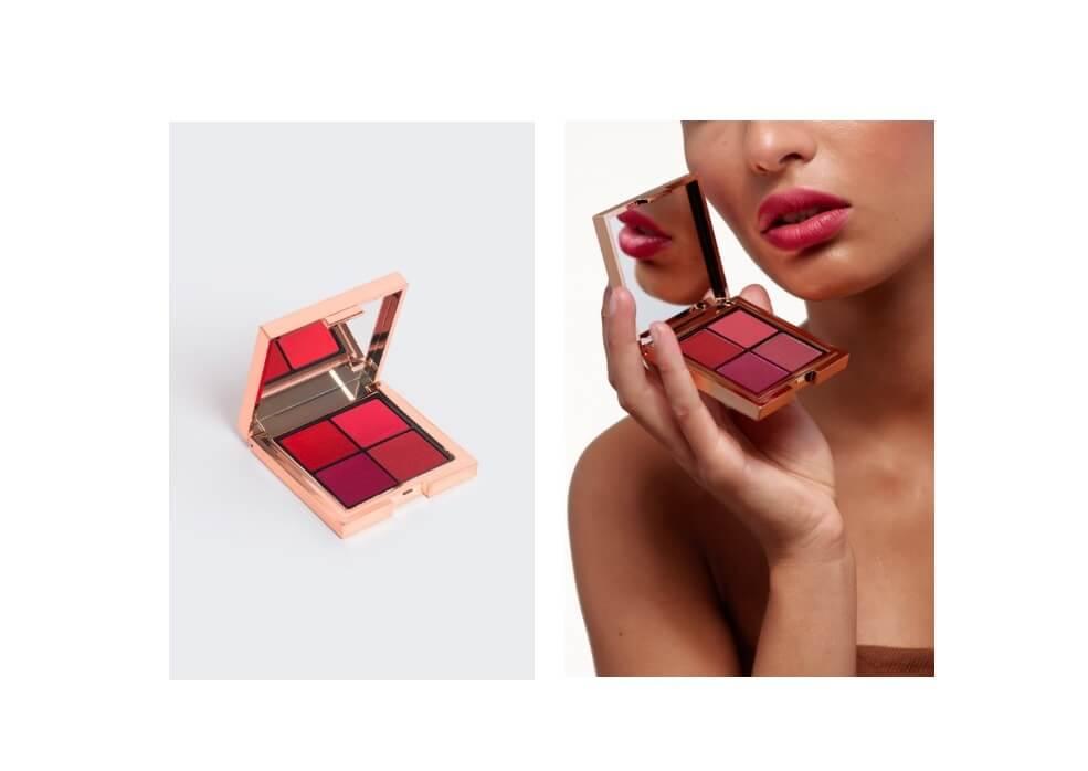 La palette di rossetti per un make up stile parigino