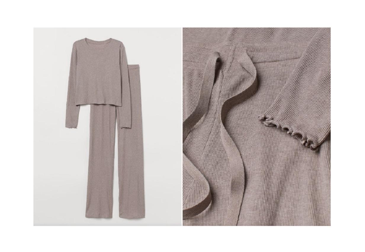 Il pigiama H & M da 24,99 euro perfetto per lo smart working