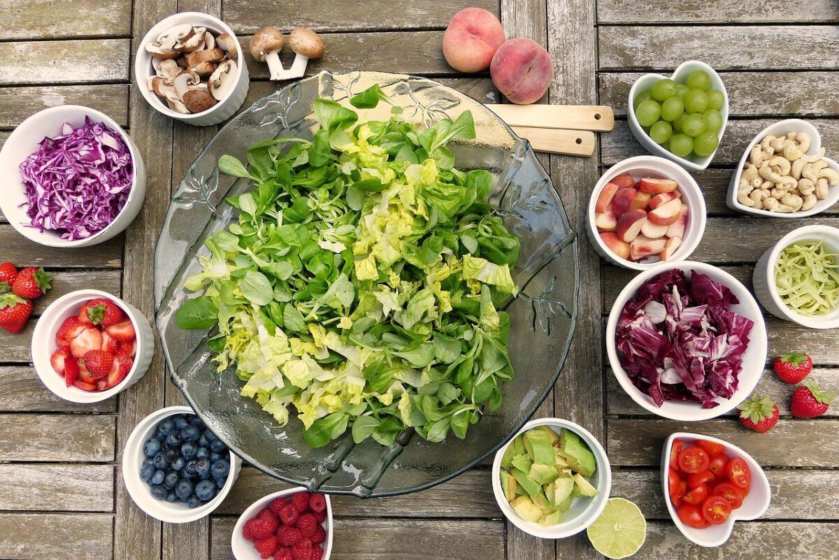 alimenti ricchi di vitamine