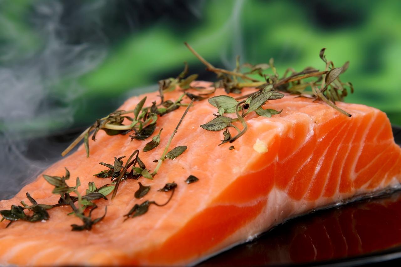 salmone, ricco di vitamina D