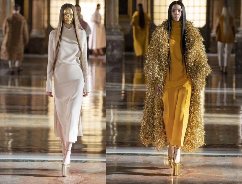 Valentino, tacchi vertiginosi anni '70 tornano protagonisti in passerella
