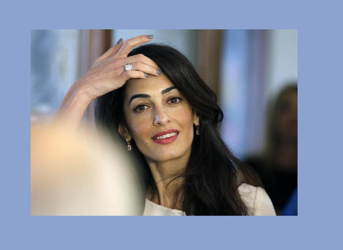 Amal Clooney ha usato questo rossetto per il suo ultimo red carpet