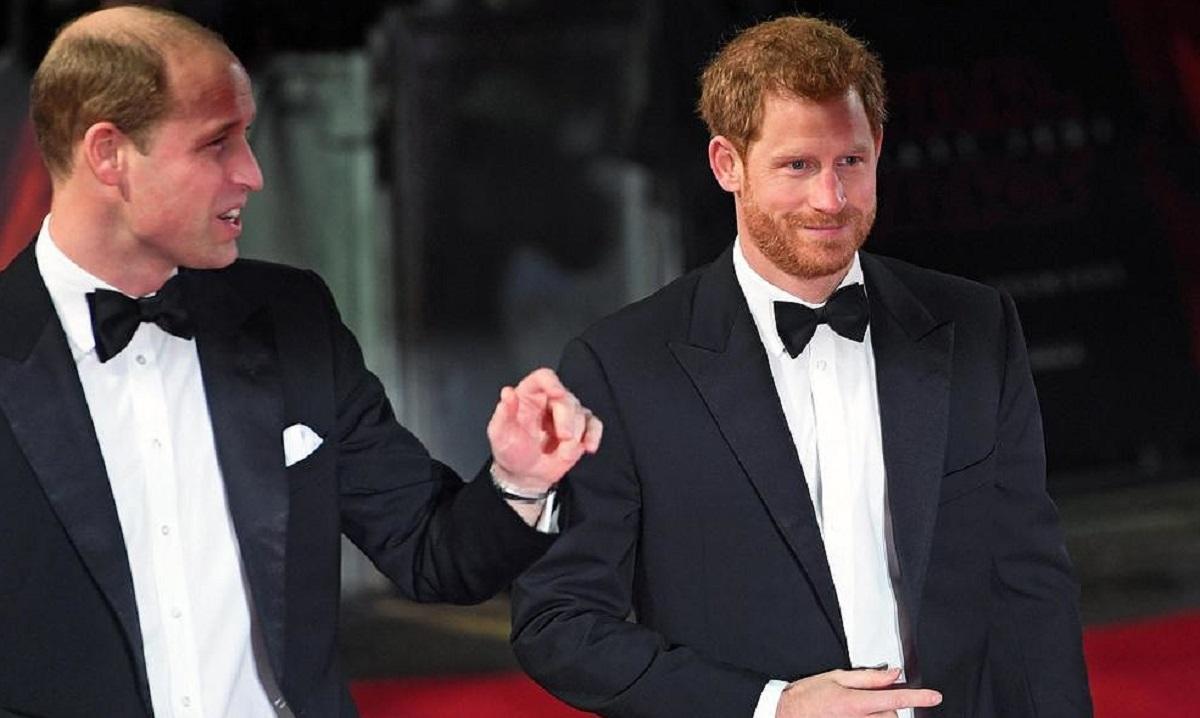 il principe William con Harry