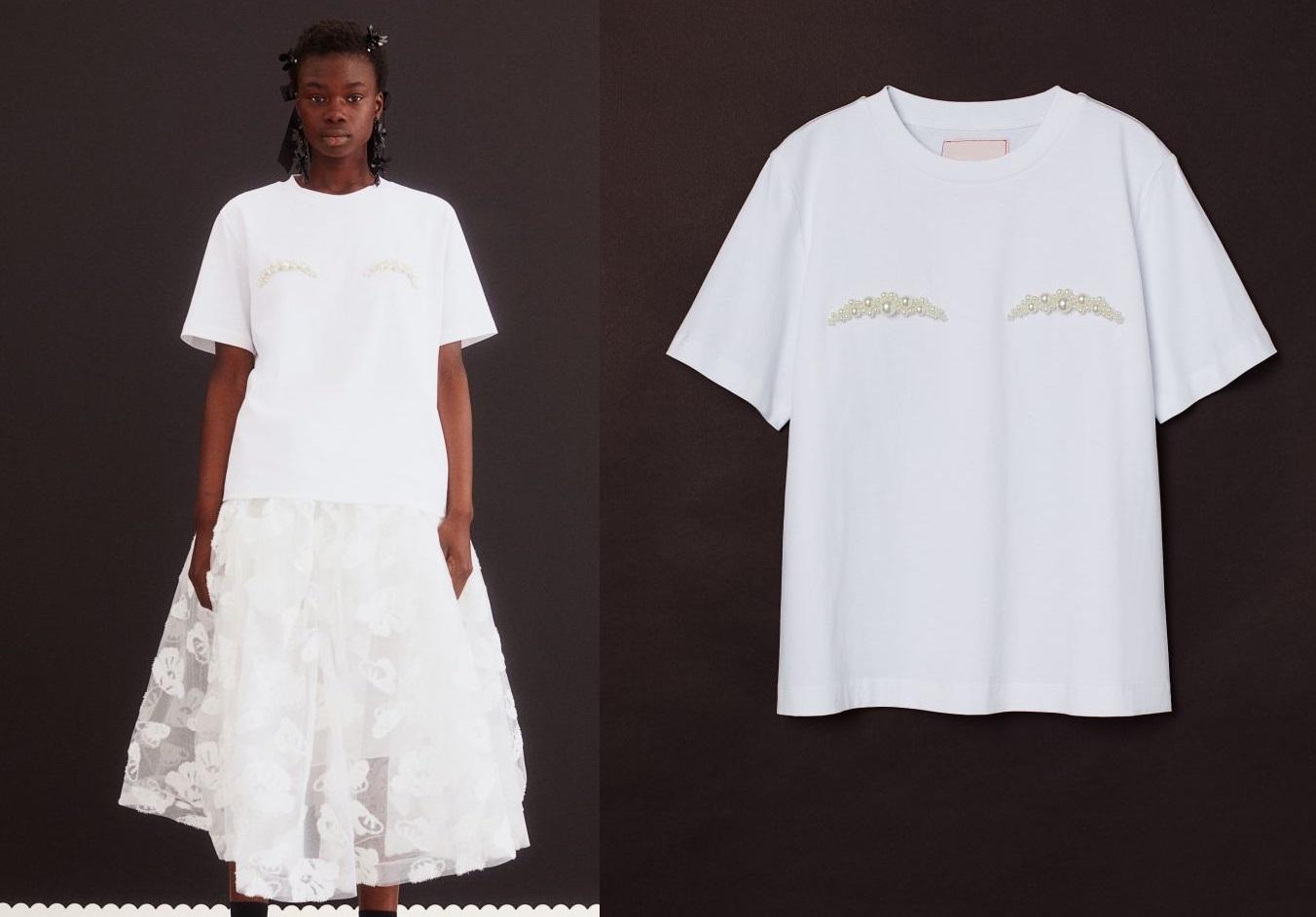 Simone Rocha x H&m t-shirt