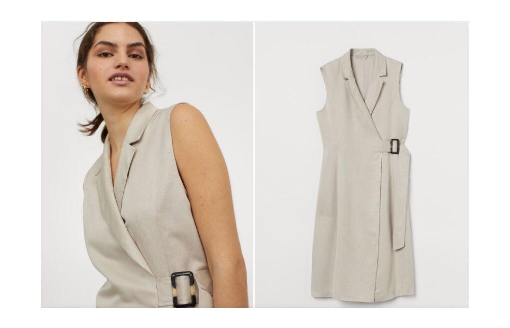 La versione H&M del tuxedo dress di Meghan Markle