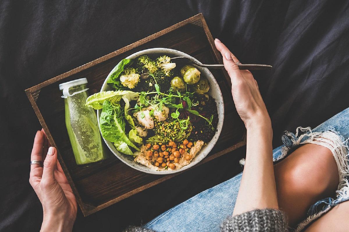 piatto di cibo salutare