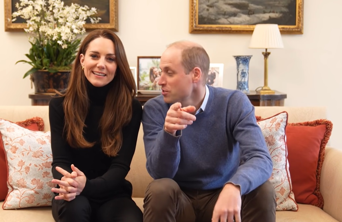 Kate Middleton e William aprono un canale Youtube