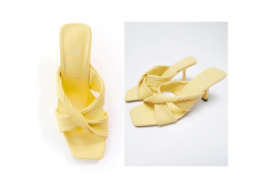 Questi sandali plissettati Zara a 39,95 euro sono i tuoi alleati per l'estate