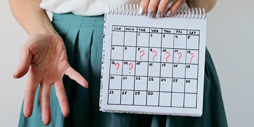 Ciclo irregolare, 6 possibili motivi (senza essere incinta)
