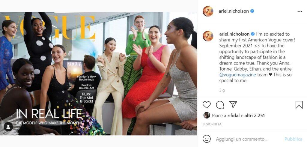 copertina settembre di Vogue USA