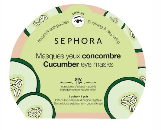 Selena Gomez usa queste maschere occhi al cetriolo da 3,99 euro