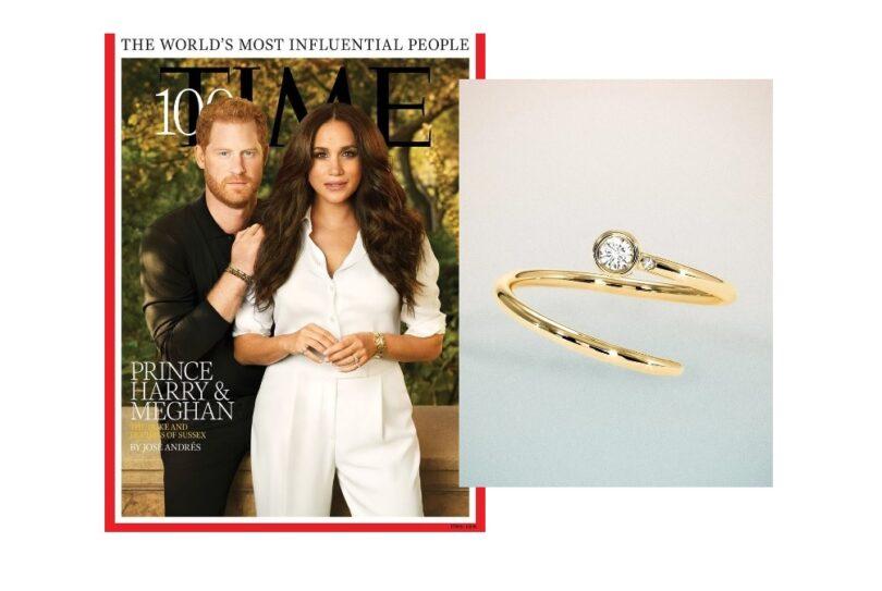 L'anello Duet Pink Ring di Meghan Markle ha un significato speciale